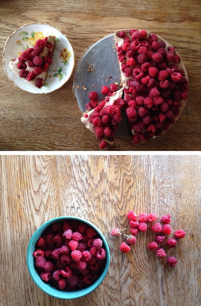 Raspberry Tart a Pitchforks & Pomegranates